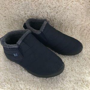 BJ boots size 11 (42) blue women's